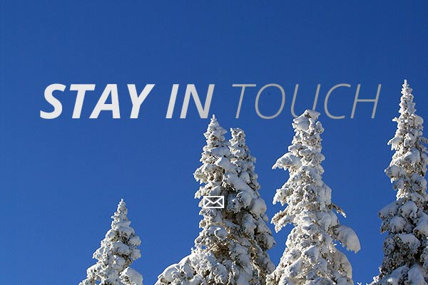 Stay in touch with Vermont this winter.