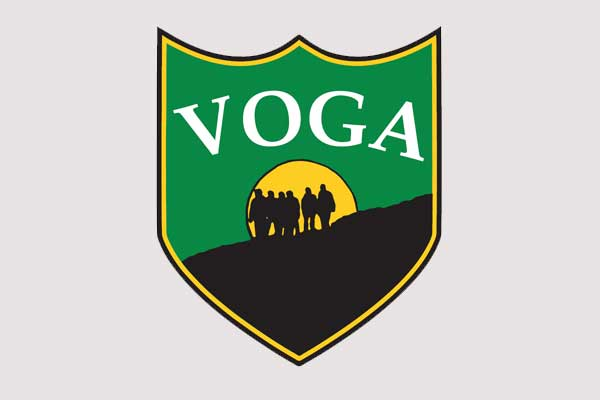 Vermont Outdoor Guide Association logo.