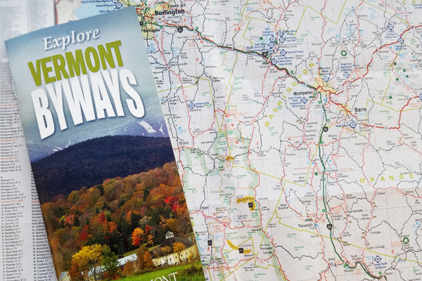 Vermont Byways Map