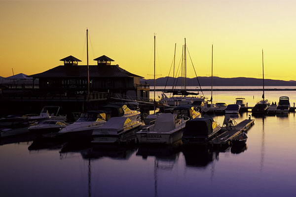 Burlington Waterfront, Lake Champlain
