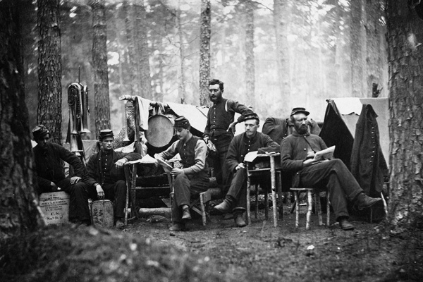 Vermont's civil war history.