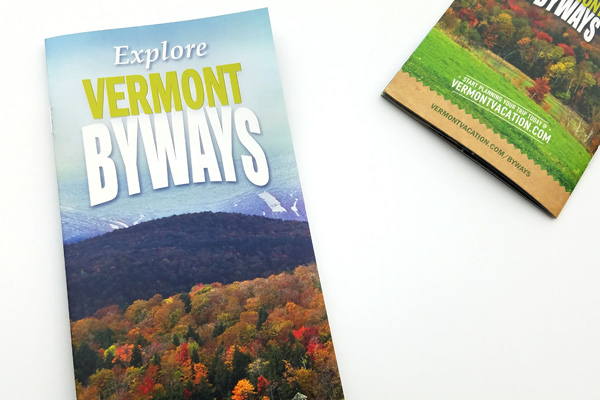 Vermont Byways brochure.