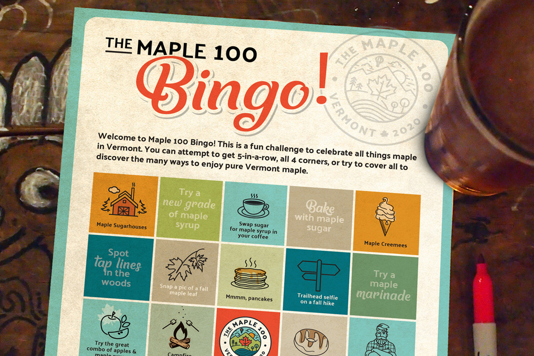 The Maple 100 Bingo