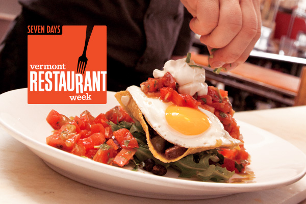 Vermont Restaurant Week: April 21-30, 2017.