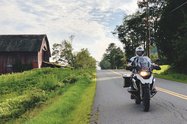 RoadRUNNER Motorcycle Touring and Travel magazine motorcycle Vermont