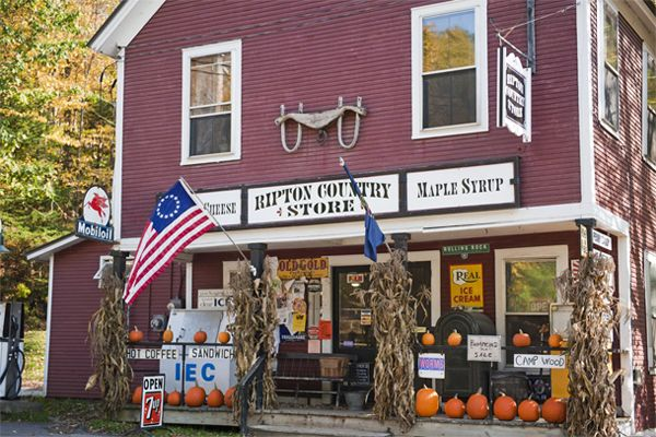 Ripton Country Store in Vermont