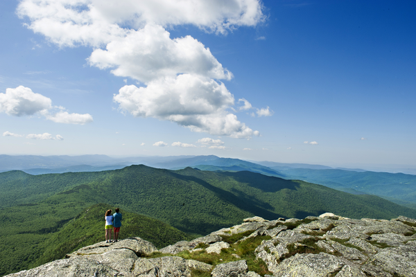Hiking Camels Hump