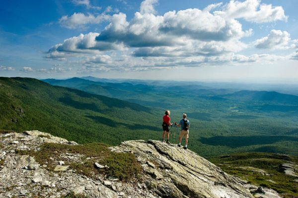 Hiking Mount Mansfield in Summer