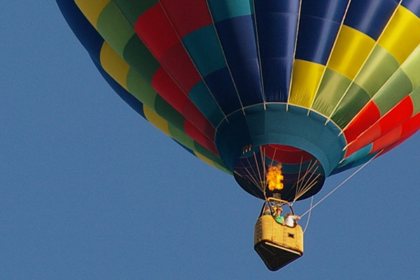 Hot Air Balloon Festival at Quechee