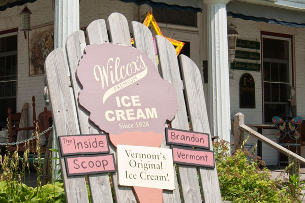Wilcox's Premium Ice Cream in Brandon, VT.