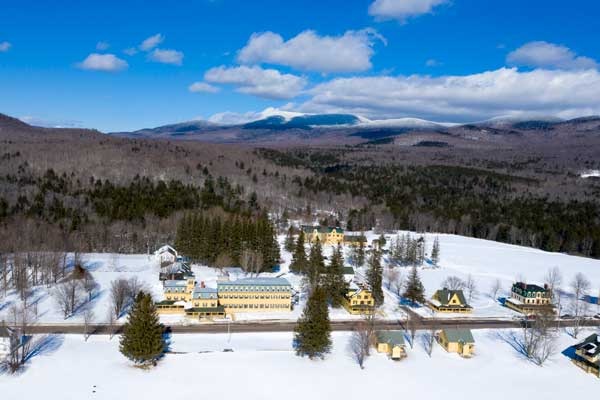 Ripton in the Winter in Vermont