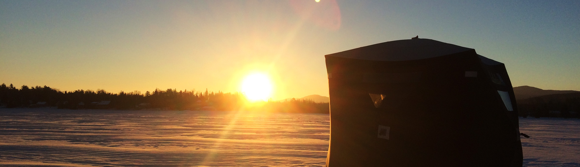 Ice Fishing In Vermont The