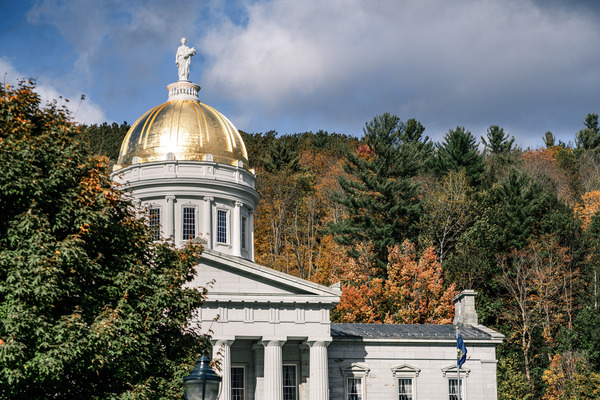 Vermont State House in Vermont