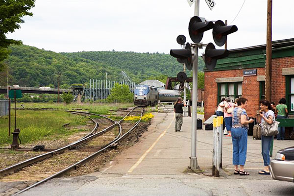 Bellows Falls Amtrak Station in Vermont
