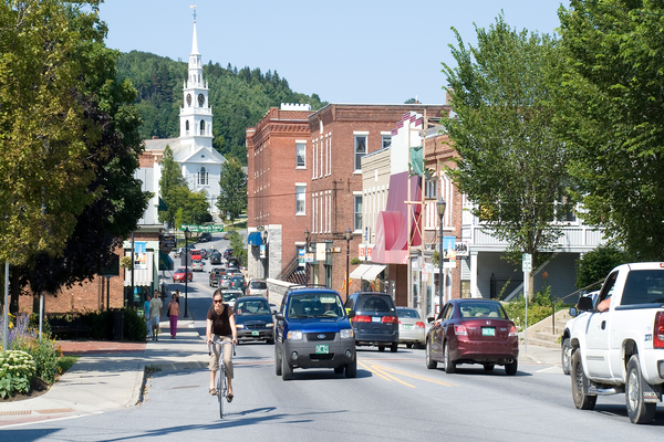 Buildings in downtown middlebury