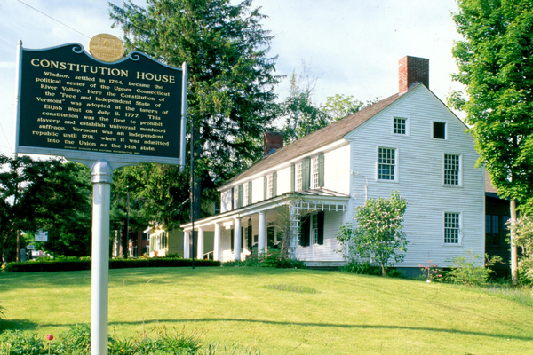 Historic site in Windsor Vermont