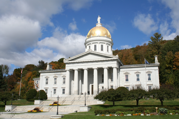 State Capitol in Montpelier Vermont