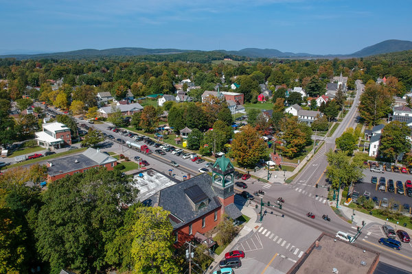 Bristol - a historic Vermont downtown